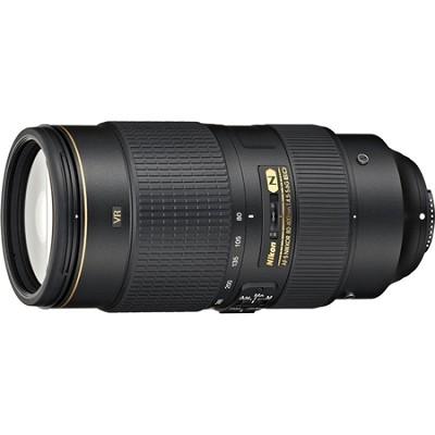 AF-S NIKKOR 80-400mm f.4.5-5.6G ED FX Full Frame VR Lens
