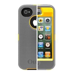 iPhone 4s Defender Series - Sun Yellow / Gunmetal Color