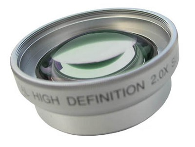 Professional 2x Telephoto Lens Converter - for 27mm threading