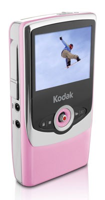 Zi6 Pocket Video Camera (Pink)