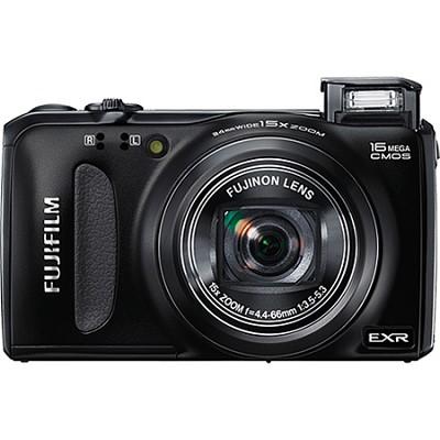 FinePix F660EXR 16MP EXR CMOS Digital Camera (Black)