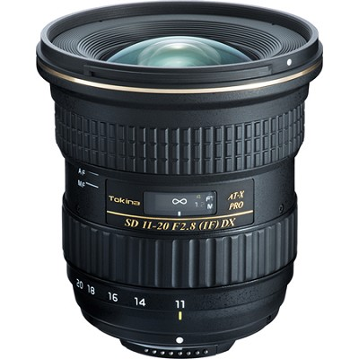 AT-X 11-20mm f/2.8 Pro IF DX Digital Ultra Wide Zoom Lens for Canon EF
