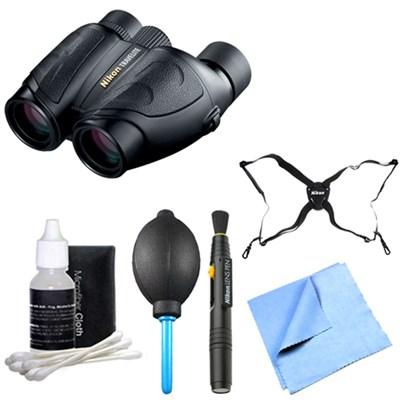 7278 10x25 Travelite Binoculars Explorer Bundle