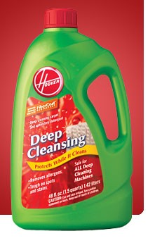 Deep Cleansing Carpet/Upholstery Detergent -48 oz