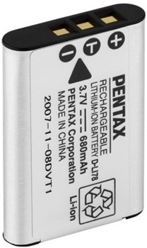 D-Li78 rechargeable li-ion battery for Optio W80
