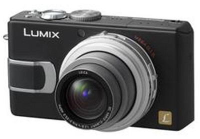 DMC-LX1K (Black) Digital Camera with 4x Optical Zoom - OPEN BOX