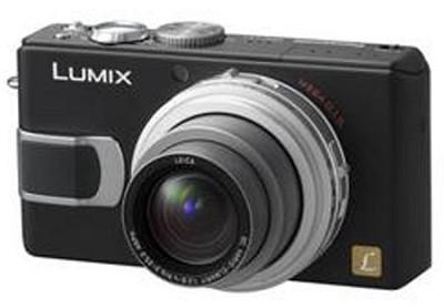 DMC-LX1K (Black) Digital Camera with 4x Optical Zoom - OPEN BOX