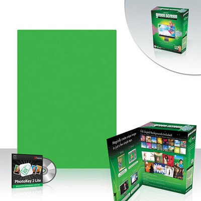 Green Screen Digital Photo Kit