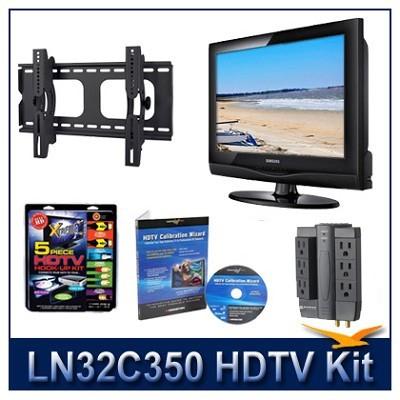 LN32C350 - HDTV + Hook-up Kit + Power Protection + Calibration + Tilt Mount