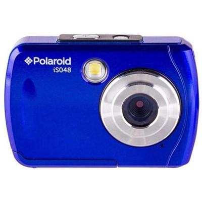 IS048-BLUE-MEJ 16MP Waterproof Digital Camera - Blue