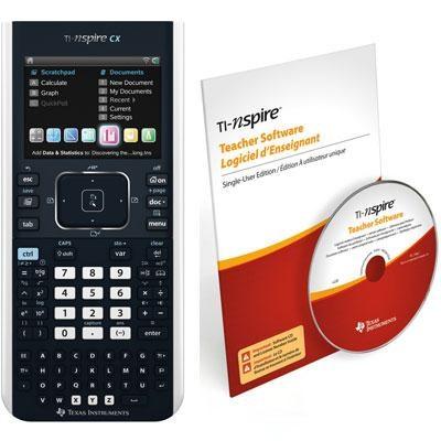 Nspire CX Teacher Calculator Bundle - N3/CBX/2L1/B