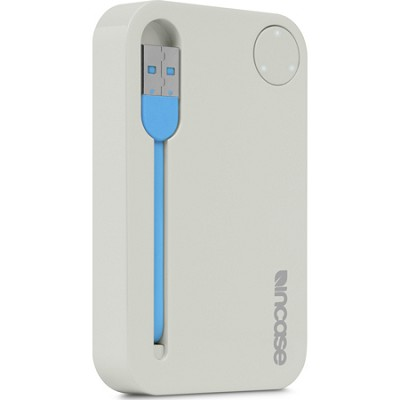 Portable Power 2500 USB Charger - Grey/Fluro Blue