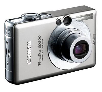 Powershot SD300 Digital ELPH Camera