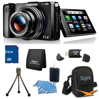 EX2F Smart Digital Camera w/ F1.4 Lens 16GB Bundle