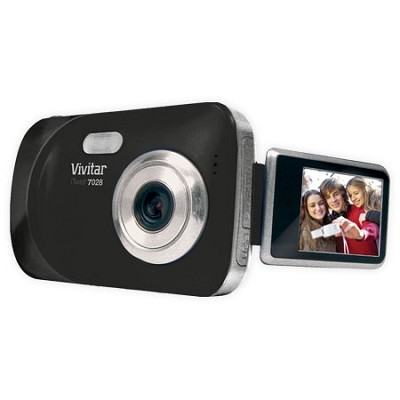 ViviCam 7028 digital camera- Black