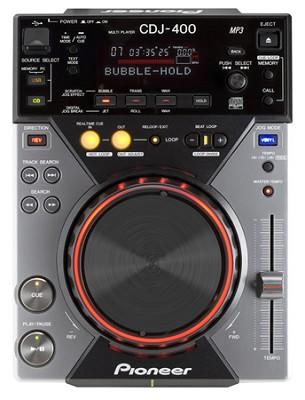 CDJ-400 DJ CD Digital Turntable with USB Integration & MP3 Playback