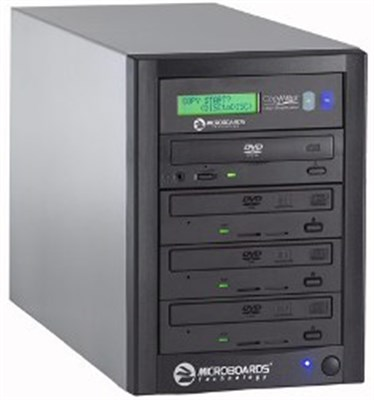 Quic Disc DVD-123, DVD Duplicator(18X/48X) (- & +), Recorder, USB 2.0 - OPEN BOX