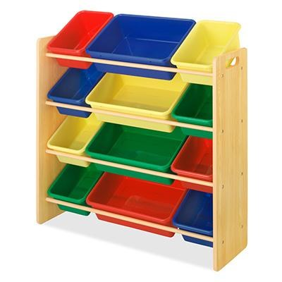 Kids Organizr 12Bin MultiColor