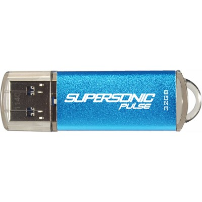 Signature 32GB Supersonic Pulse USB 3.0 Flash Drive up to 80MB/s