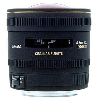 4.5mm F2.8 EX DC Circular Fisheye HSM For Nikon DSLRs