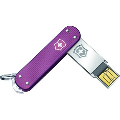 Slim 2.0 USB 32GB Flash Drive (Pink)
