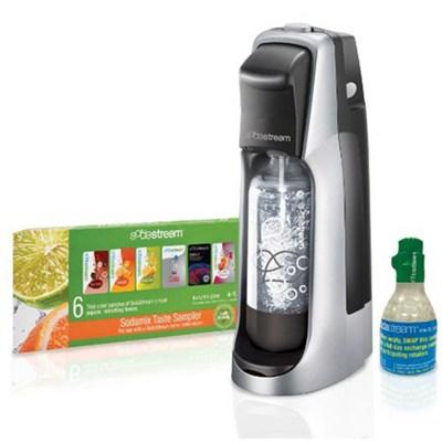 JET Home Soda Maker Starter Kit - Black/Silver - OPEN BOX