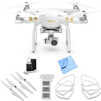 Phantom 3 4K Quadcopter Drone with 4K Camera  Inclusive Hi Flyer Bundle
