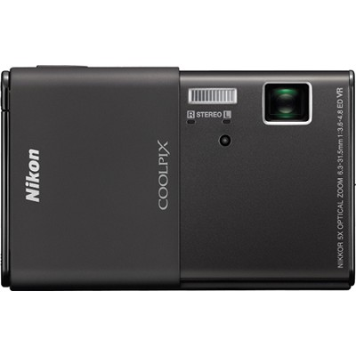COOLPIX S80 14.1 MP Ultra-Slim 3.5 in Touchscreen Black Camera w/ HD Video
