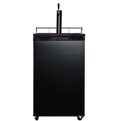 4.9 Cubic Feet Compact Single Door Beer Cooler in Black - WHS199BB1