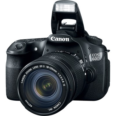 EOS 60D DSLR Camera with 18-135mm IS Lens