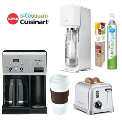 Cuisinart Coffeemaker & Toaster, SodaStream Jet Sodamaker & Copco Reusable Cup