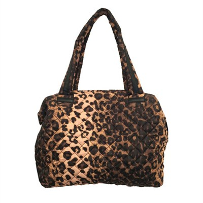 QUILT2S Animal Print Quilted Bag - Leopard