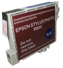 Replacement Ink Cartridge (Blue) for Epson Stylus R800/R1800