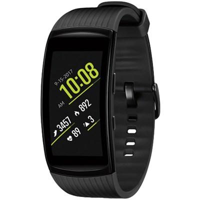 Gear Fit2 Pro Fitness Smartwatch - Black, Large (OPEN BOX)