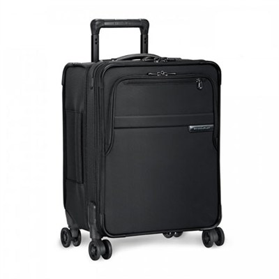 Baseline Collection 19` Commuter Expandable Luggage Spinner (Black) - U119CXSP-4