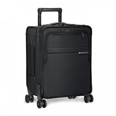 Baseline Collection 19` Commuter Expandable Luggage Spinner (Black) - U119CXSP-4