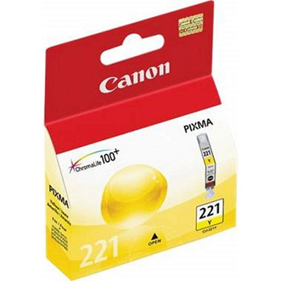 CLI-221 Yellow Ink Tank for MP990, MP640, MP560, iP4700 Printers