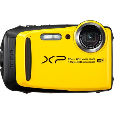 FinePix XP120 Yellow Compact Rugged Waterproof Digital Camera