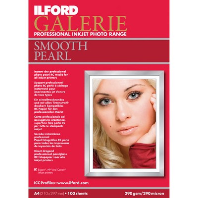 Galerie Smooth Pearl Inkjet 4 x 6 Photo Paper, 100 Sheets