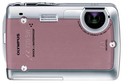 Stylus 720 SW 7.1MP Shockproof and Waterproof Digital Camera (Pink)