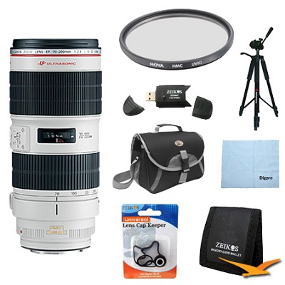EF 70-200mm f/2.8L II IS USM Telephoto Zoom Lens Exclusive Pro Kit