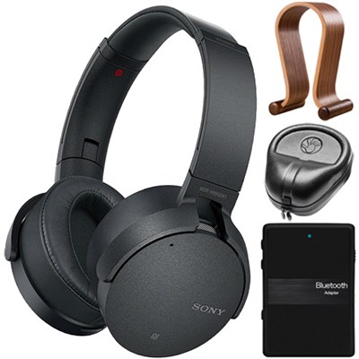 XB950N1 Noise Canceling Extra Bass Wireless Headphones Accessories Kit (Black)