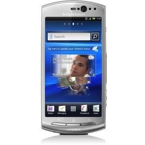 Ericsson XPERIA neo V Smartphone - Wi-Fi - 3.5G - Bar - Silver