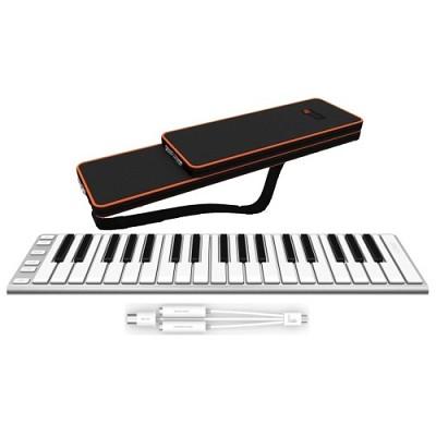 XKey 37-Key USB MIDI Portable Mobile Musical Keyboard Controller with Case