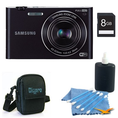 MV900 Smart Touch Multi View 3.3` LCD Black Digital Camera Kit