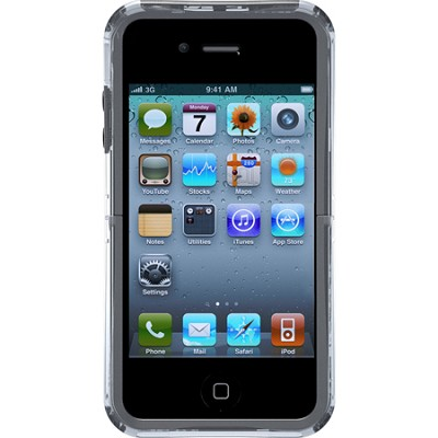 Reflex Series Case for iPhone 4/4S - Retail Packaging - Transparent