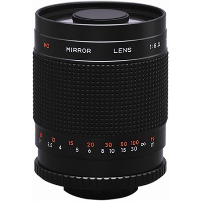 500M - 500mm f/8.0 Mirror Lens