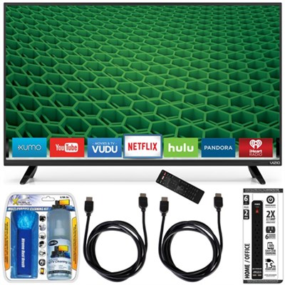 D50-D1 - D-Series 50-Inch Full Array LED Smart TV Accessory Bundle