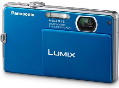 DMC-FP1A LUMIX 12.1 MP Digital Camera (Blue)