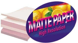 8.5x11 High Res Matte Photo Paper 100 Pack